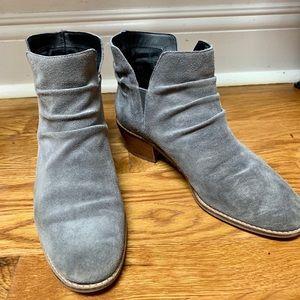 Cole Haan gray booties